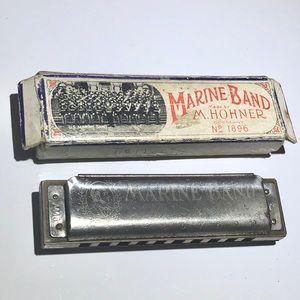 Marine Band By M. Hohner vintage harmonica